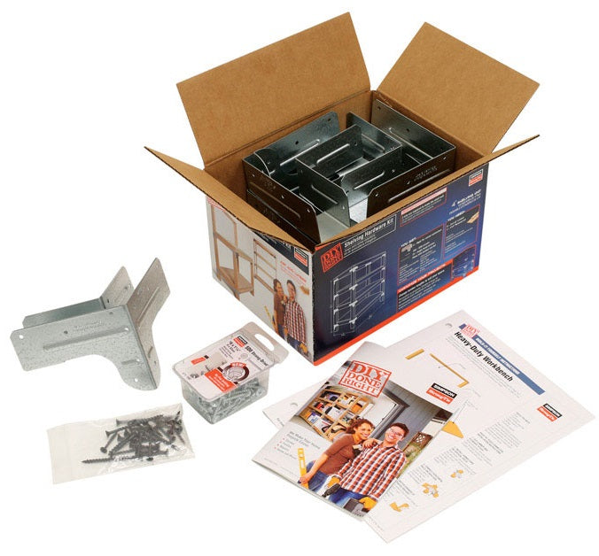 Buy wbsk workbench and shelving hardware kit - Online store for joist hangers & connectors, metal connectors in USA, on sale, low price, discount deals, coupon code