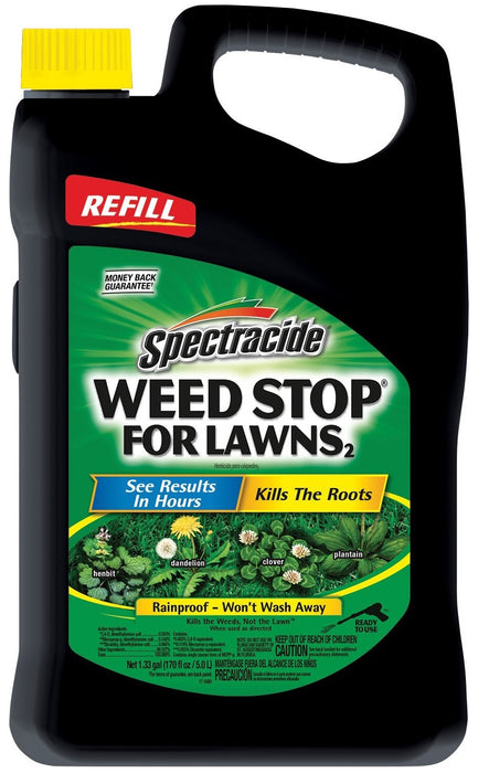 Spectracide HG-96417 Weed Stop for Lawns AccuShot Sprayer Refill, 1.33 Gallon