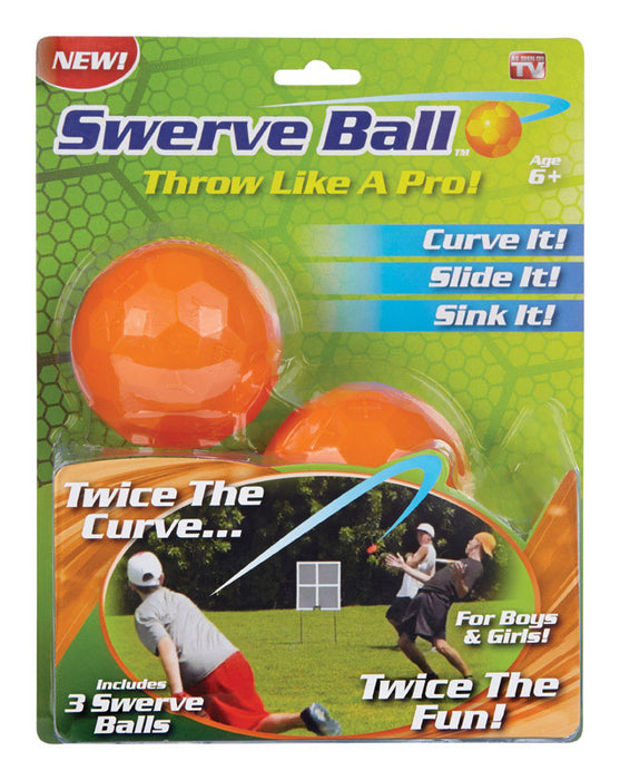 Swerve Ball As Seen on TV Set of 3