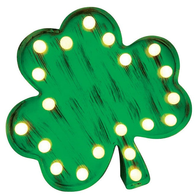 Sylvania V88236-71 Tabletop LED Shamrock, Green