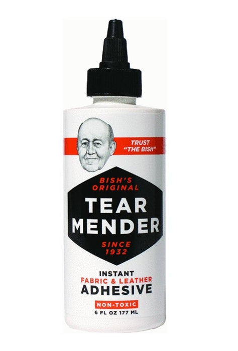 Tear Mender TG-6 Instant Fabric And Leather Adhesive, 6 Oz.