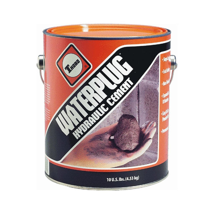 Thoro T5002 Waterplug Hydraulic Cement , Gray, 10 Lbs