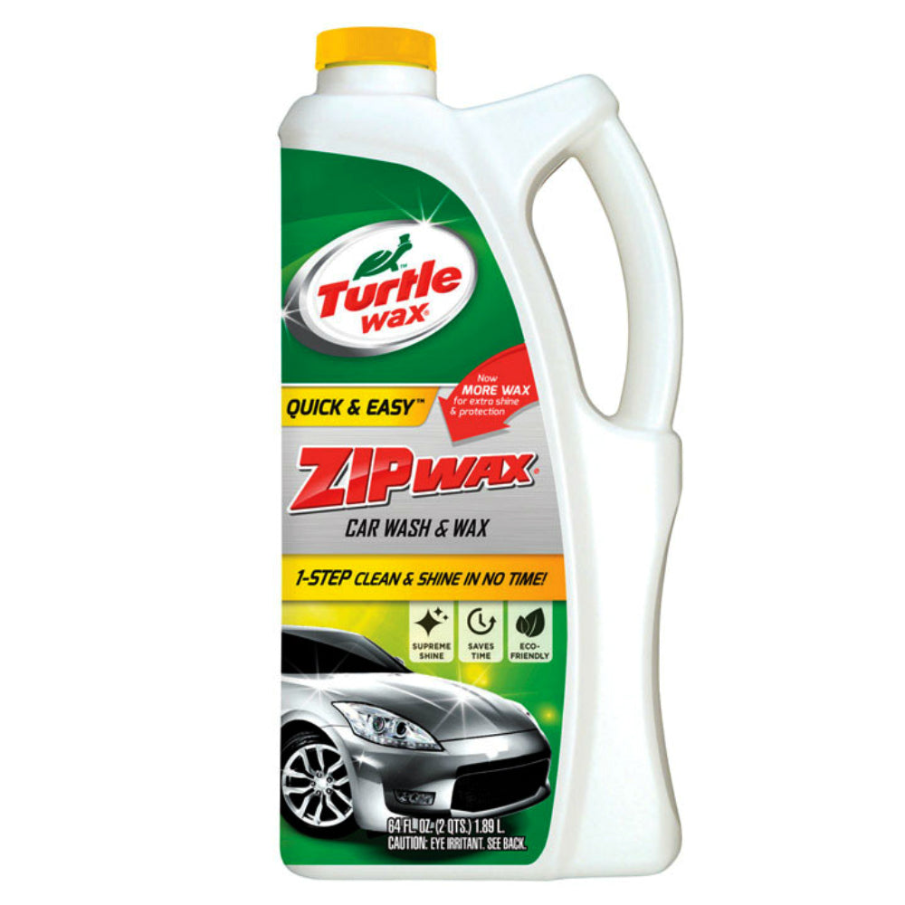 Turtle Wax T79 Zip Wax Car Wash, 64 Oz
