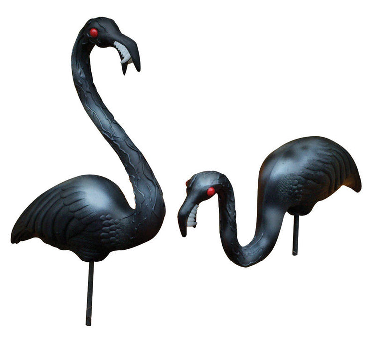 Union Products 62363 Black Zombie Flamingos, 30