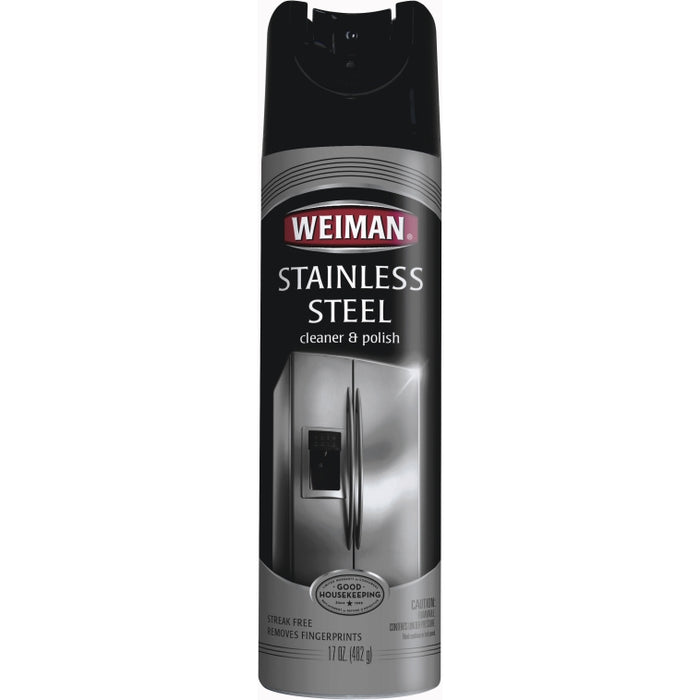 Weiman 49 Stainless Steel Cleaner & Polish, 17 Oz