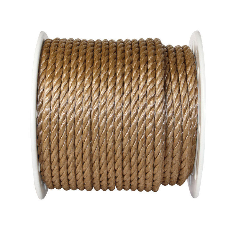 Twisted Poly Rope Brown On Sale Home Hardware Products