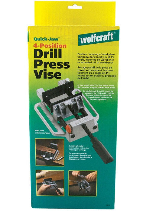 Wolfcraft 3410405 Quick Action Vise, 4