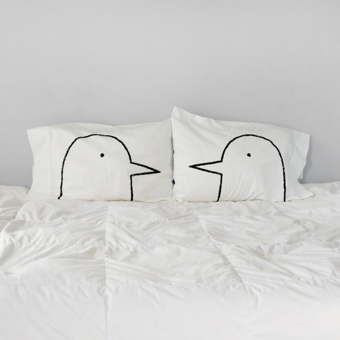 Xenotees Love Birds Pillowcase Set