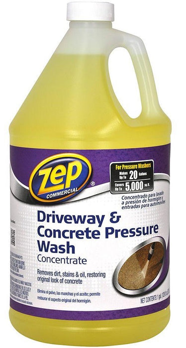 Zep ZUBMC128 Driveway & Concrete Pressure Wash Concentrate, Gallon