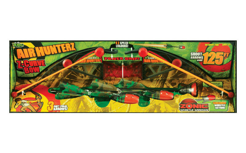 Zing AH170 Air Hunterz Zano Bow, Multi-Colored