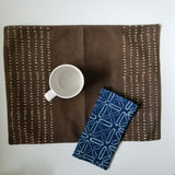 Ichcha - Pebbles Placemat - Brown