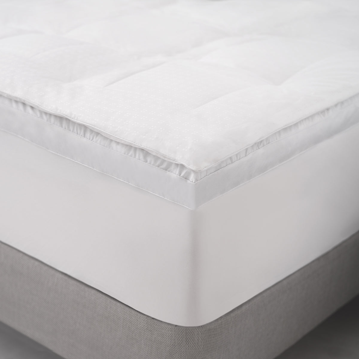 Pure Luxury Down + Feather Mattress Topper