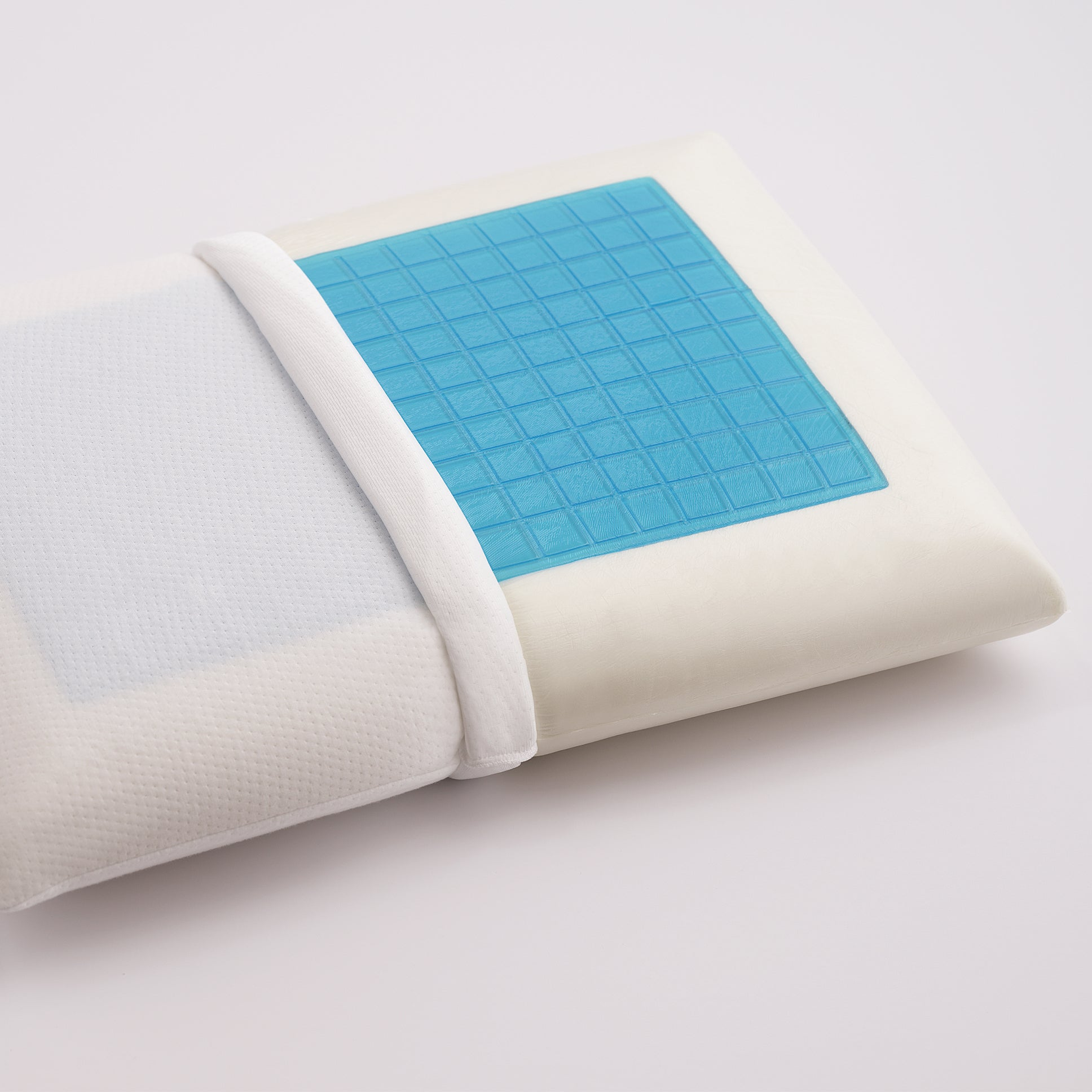 Cooling Gel Memory Foam Bed Pillow with CoolMax Cover