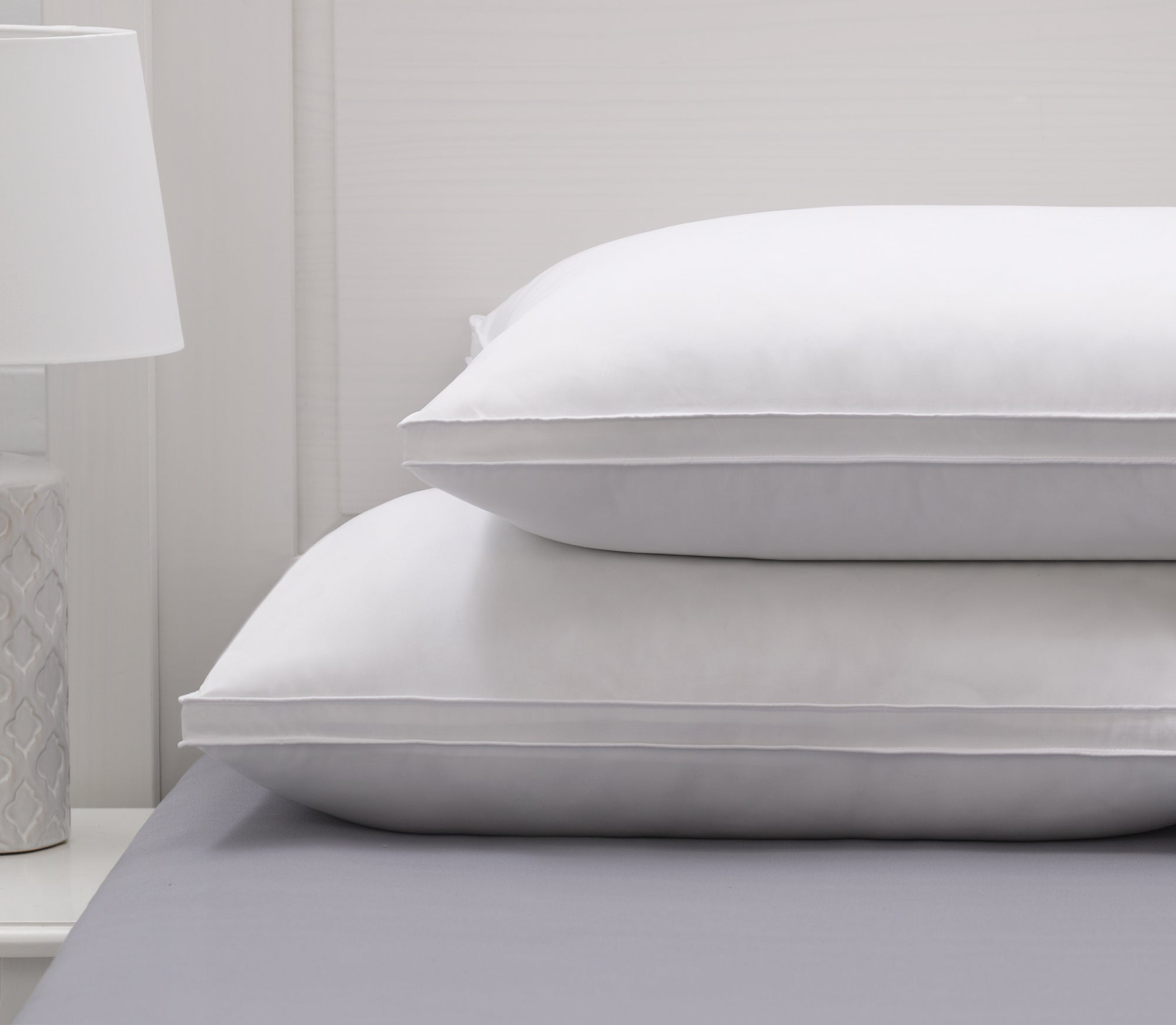 Pure Luxury White Goose Down Pillow