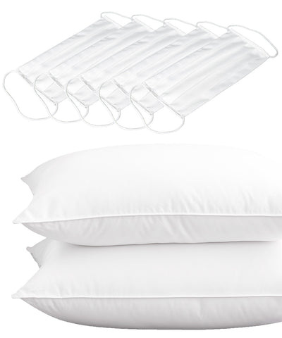 ALLERGEN BARRIER PILLOW + FACE MASK BUNDLE