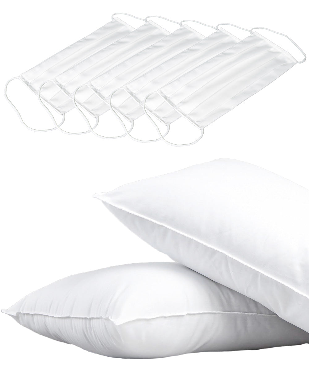 MICRONONE ALLERGEN BARRIER PILLOW + FACE MASK BUNDLE