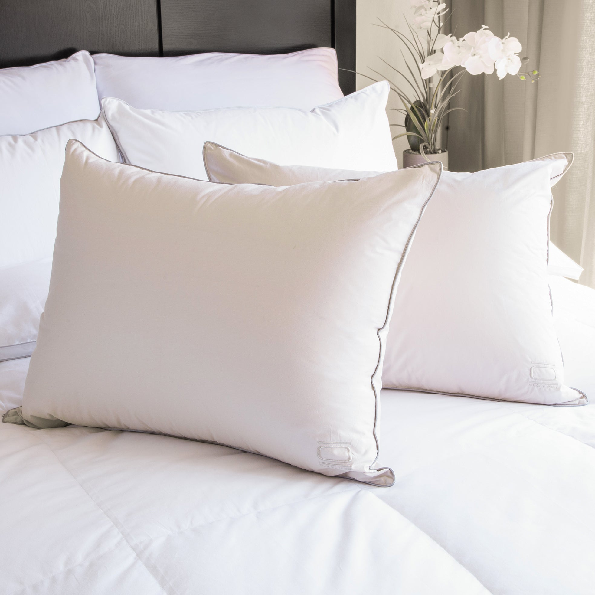 Nikki Chu White Down Pillow