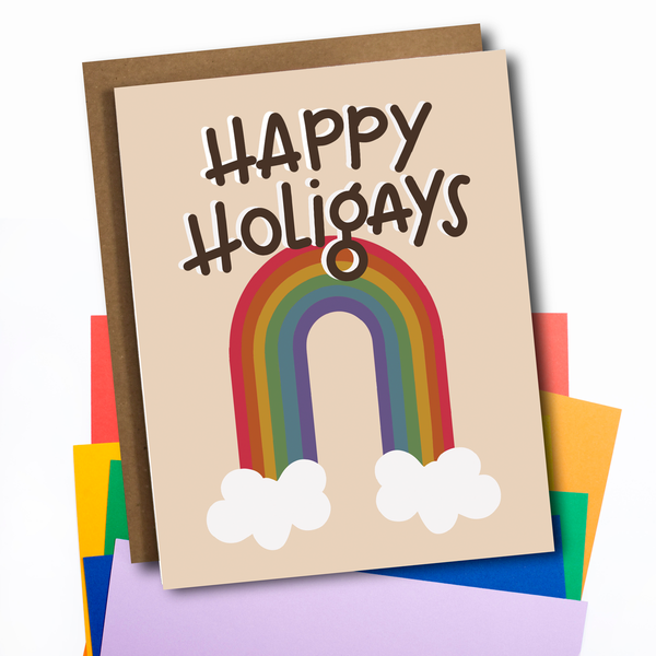 Card: Happy Holigays