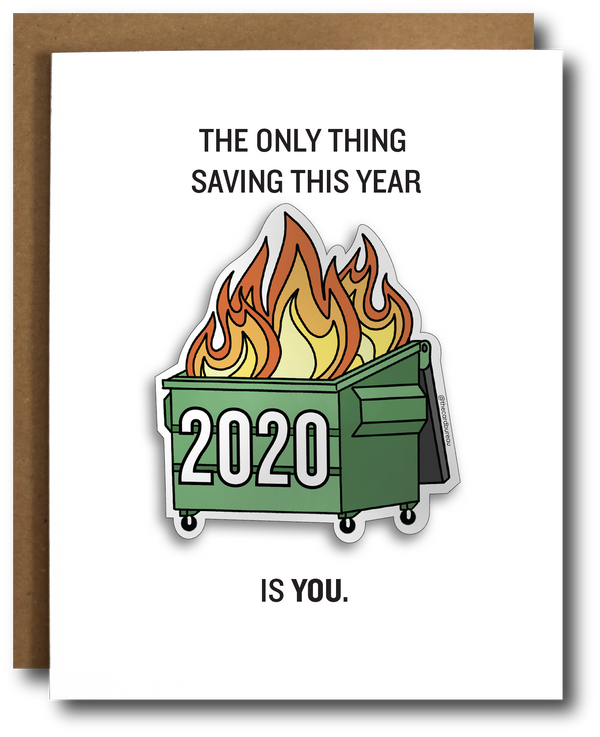 Card: 2020 Dumpster Fire