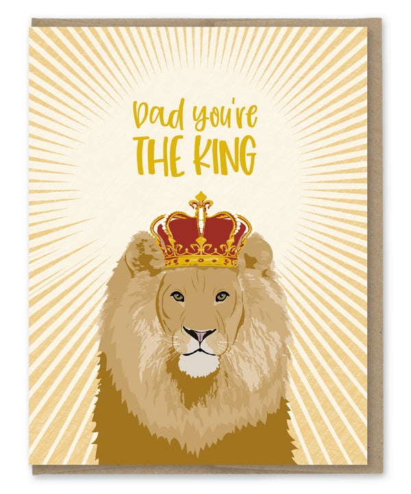 Card: Dad, You're the King