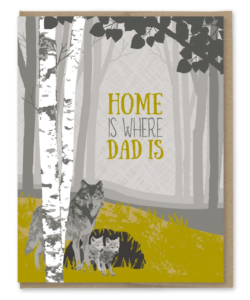 Card: Home is Where Dad Is