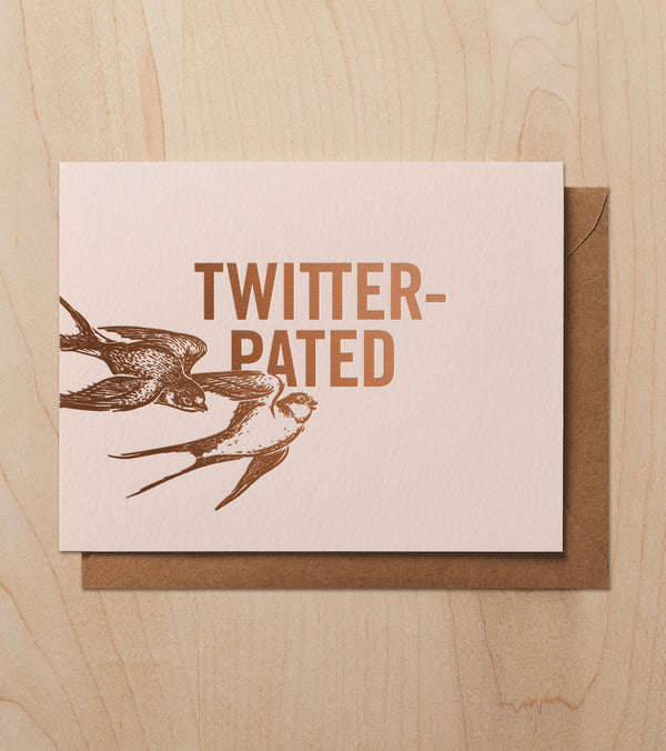 Card. Twitter-Pated
