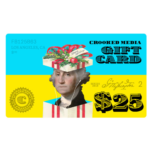 Crooked Media Online Store Gift Card