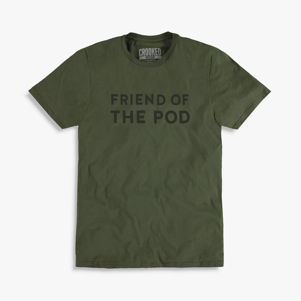 Friend of the Pod Monochrome Tees