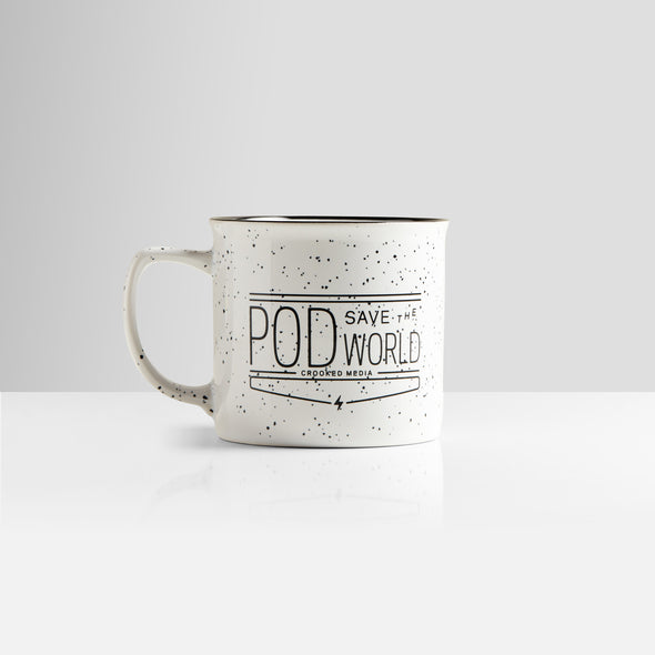 Pod Save The World Camping Mug