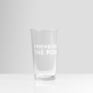 Etched Pint Glass Set (2 Glasses)
