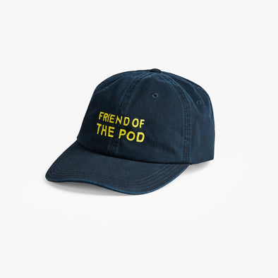 Friend Of The Pod Embroidered Hat (Navy)