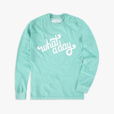 What A Day Longsleeve T-Shirt Mint