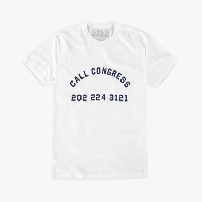 Call Congress T-Shirt White