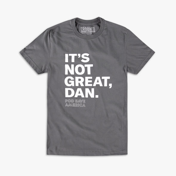 It's Not Great, Dan T-Shirt Gray
