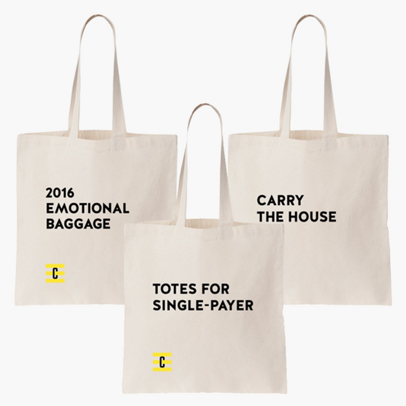 Crooked Tote Bag