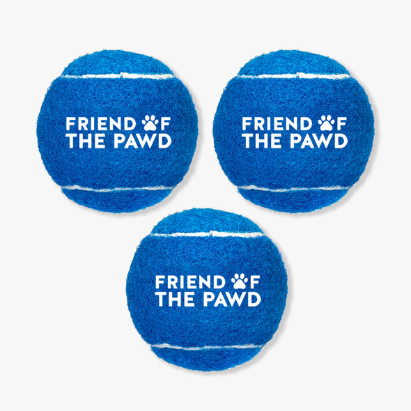 Friend of the Pawd Tennis Balls Set of 3