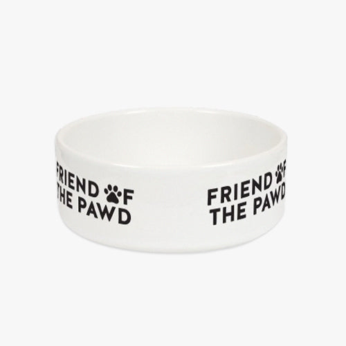 Friend of the Pawd Pet Bowl