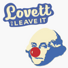 Lovett Or Leave It George Lapel Pin Set