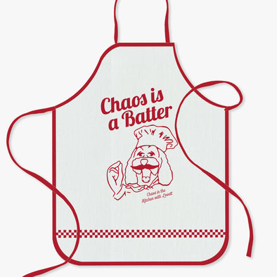 Chaos Is A Batter Apron