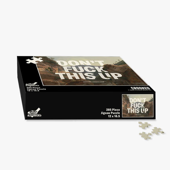 Don't F*ck This Up Jigsaw Puzzle