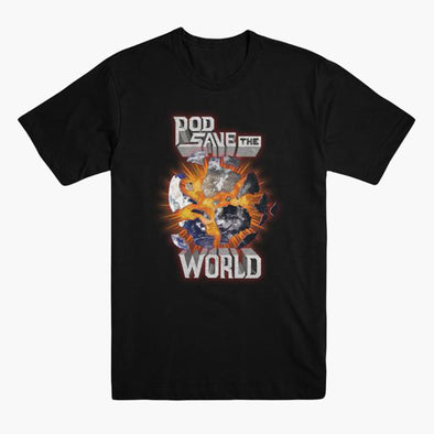 Pod Save The World Globe T-Shirt