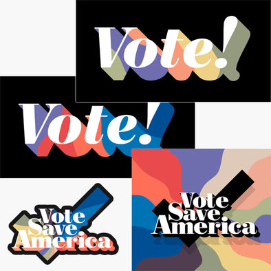 Vote Save America Sticker Pack
