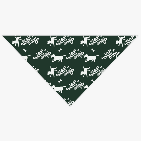 What A Dog Pet Bandana
