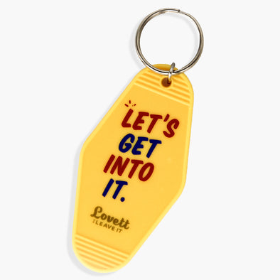 Lovett Or Leave It Hotel Room Keychain