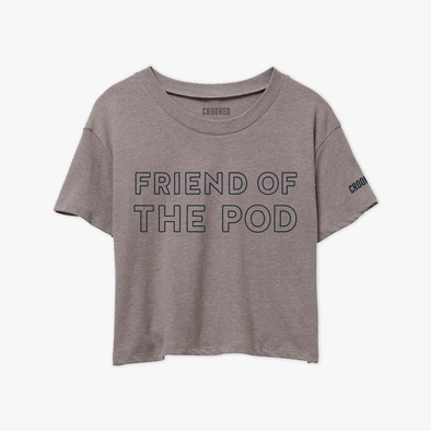 Friend Of The Pod Relaxed Crop T-Shirt