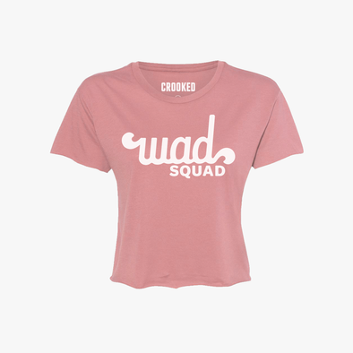 WAD Squad Relaxed Crop T-Shirt