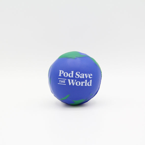 Pod Save the World Stress Ball
