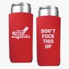 Vote Save America Tall Koozies Set of 2