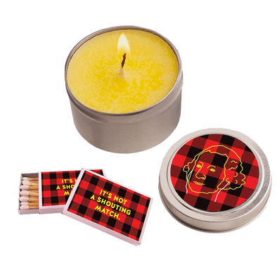 Shouting Match Candle Set