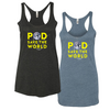 Pod Save The World Tank Top